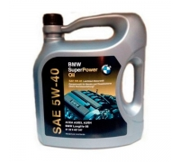 Масло моторное BMW SuperPower Oil 5W40 5л.