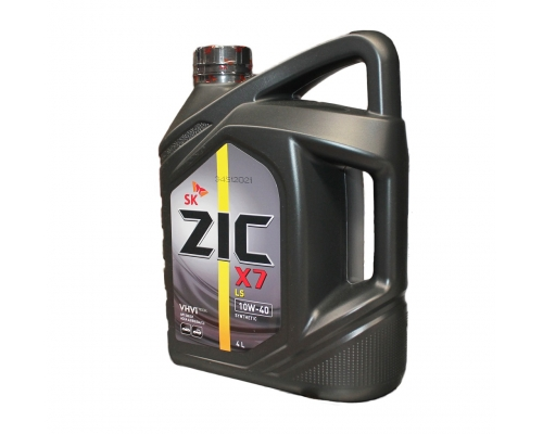 Масло моторное ZIC X7 LS 10W-40 4л. (162620)